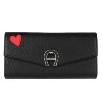 Portemonnaie Fashion Wallet Black schwarz