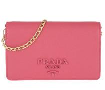 b900a740faf01 Umhängetasche Portafoglio Con Catena Pink rosa. Prada