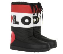 Boots Ski Boot Heart Nero/Bianco/Rosso schwarz
