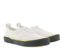 180 Lace Up Sneakers White/Slate Sneakers
