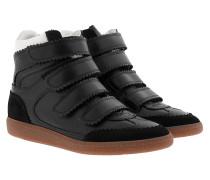 Bilsy Vintage Sneakers Smooth+Grain Black Sneakers
