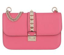Rockstud Lock Shoulder Bag Medium Bright