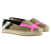 Hodgeson Espadrilles Fluo Bright Pink