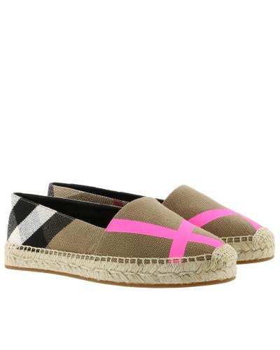 Burberry Damen Hodgeson Espadrilles Fluo Bright Pink Espadrilles Mit Kreditkarte Günstig Online QCOfSw