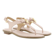 Alice Thong  Soft Pink Sandalen gold