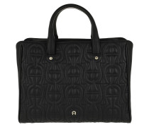 Ivy Handle Bag Medium Black Tote