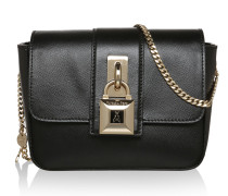 Twistlock Chamois Crossbody Bag Black Tasche