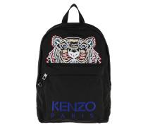 Kanvas Tiger Medium Backpack Black Rucksack