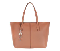 Anq Bag Calf Leather Marrone/Brandy/Chiaro Tote