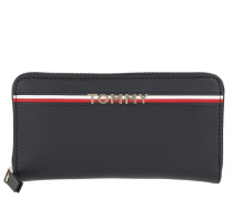 Corp Leather Wallet Tommy Navy Portemonnaie