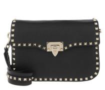 Rockstud Bag Studs Calfskin Black Tasche