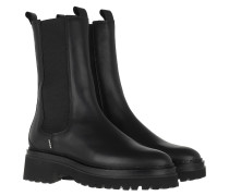 Boots Fae Adams Ankle Boot Black Leather