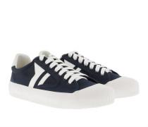 Plimsole Sneaker Canvas Navy/White Sneakers