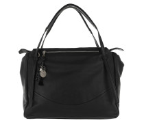 Burnie Mamoun Satchel Bag Black Tote