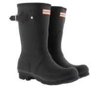 Boots Women's Original Short Rubber Boots Black schwarz