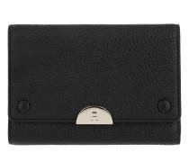 Romy Wallet Leather Black Portemonnaie