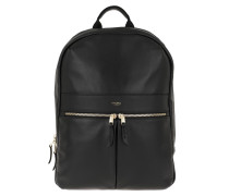 "Rucksack Beaux Backpack 14"" Black"