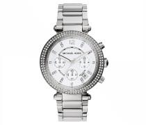 Parker Watch Silver-Tone Armbanduhr