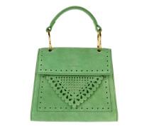 Lace Handle Bag Vert Tasche