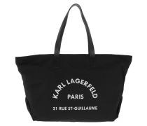 Shopper Rue Saint Guillaume Big Tote Black schwarz