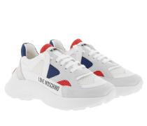Sneakers Running Sneaker Multicolor weiß