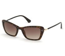 Sonnenbrille Women Sunglasses Injected GU7654 Havanna/Brown
