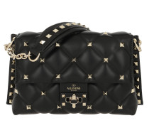 Rockstud Mini Crossbody Bag Leather Black Tasche
