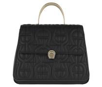 Genoveva M Handle Bag Black Satchel Bag
