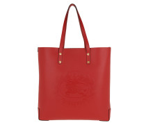 LL LG Tote Leather RUST RED Tote