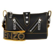 Umhängetasche Mufflone Crossbody Bag Black schwarz