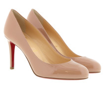 Fifille 85 Pumps Patent Leather Nude Pumps