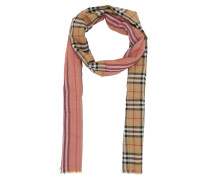 Accessoire Signature Check Scarf Rose Pink rosa