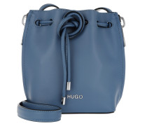 Beuteltasche Hoxton Drawstring Bag Medium Blue blau