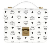 Patricia Visetos Satchel Bag Medium White Tasche