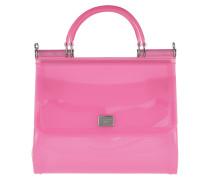 Tote Sicily Tote Bag PVC Rosa/Multi pink