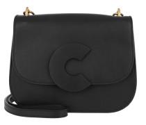 Craquante Small Smooth Crossbody Bag Noir Tasche