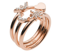 Schmuck Ladies Ring Rosegold gold