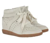 Bobby Sneakers Velvet Stainer Basket Chalk Sneakers
