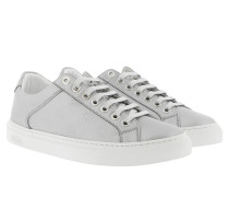 M Lace Sneakers Silver