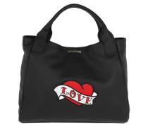 Love Handle Bag Black Tote