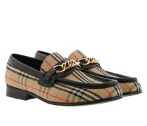 Schuhe 1983 Check Link Loafer Black beige