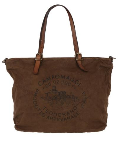 Campomaggi Damen Shopping Bag Grande Tess Militare/Cognac Tasche braun Offizielle Seite Spielraum Schnelle Lieferung Aussicht Spielraum Besuch Neu 2018 Günstig Online 6J5Itel