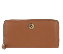 Millbrook Wallet Pebbled Lauren Tan/Orange