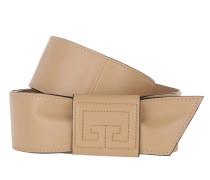 Gürtel Wrap Belt Leather Light Beige