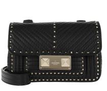 Rockstuck Studded Shoulder Bag Black