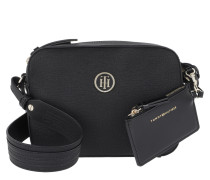 Signature Strap Camera Bag Black Tasche