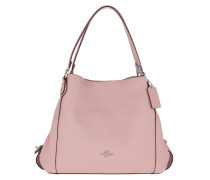 Tote Polished Pebble Leather Edie 31 Shoulder Bag Pink rosa
