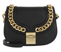 Trisha Chain Shoulder Bag Small Black Tasche