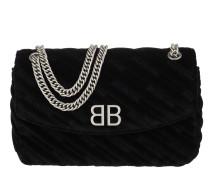 Umhängetasche BB Round M Crossbody Bag Charms Noir schwarz