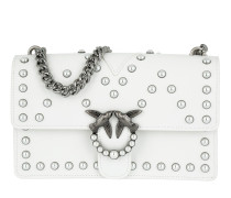 Love Pearl Shoulder Bag Bianco Brill Tasche